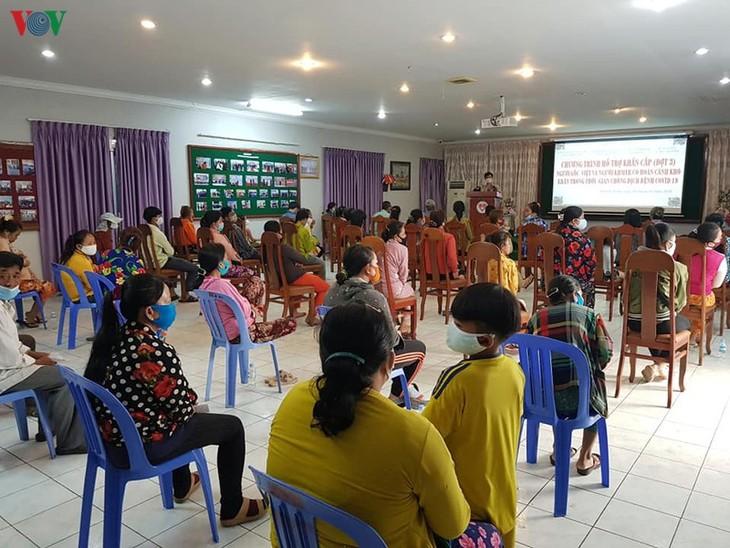 Hơn 3.000 gia đình người gốc Việt tại Campuchia được cứu trợ trong dịch COVID-19 - ảnh 2