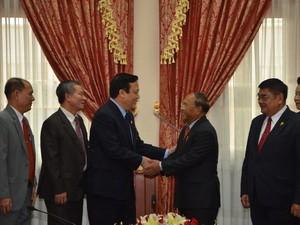 Peringatan Ult ke - 45 Penggalangan Hubungan Diplomatik Vietnam - Kamboja  - ảnh 1