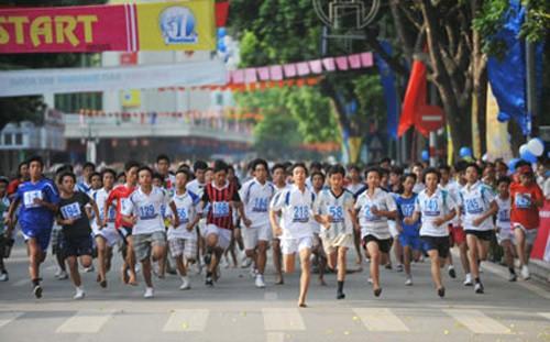 Turnamen Lari ke- 39 Koran Hanoi Moi yang diperluas tahun 2012 - ảnh 1