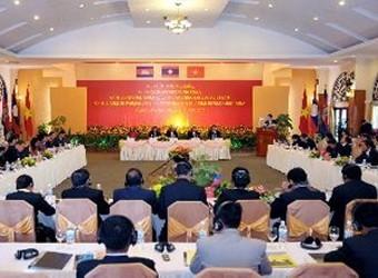 Mendorong kuat kerjasama  Kawasan Segi Tiga Perkembangan Kamboja-Laos-Vietnam - ảnh 1
