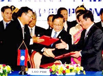 Mendorong kuat kerjasama  Kawasan Segi Tiga Perkembangan Kamboja-Laos-Vietnam - ảnh 3