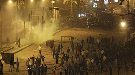 Demonstrasi menuntut pemulihan jabatan untuk Presiden yang dipecat Morsi di Mesir - ảnh 1