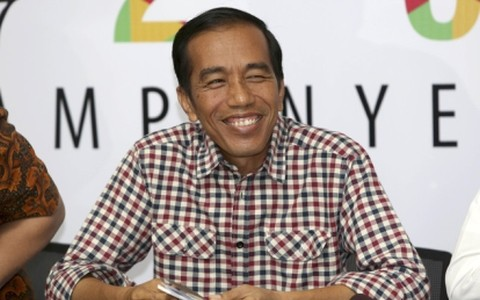 Joko Widodo dilantik menjadi Pres. Republik Indonesia - ảnh 1