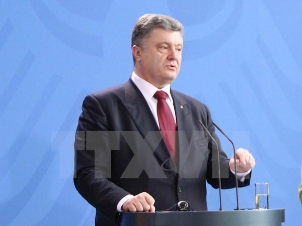 Ukraina  secara resmi memberi Status khusus untuk daerah-daerah di Ukraina Timur - ảnh 1