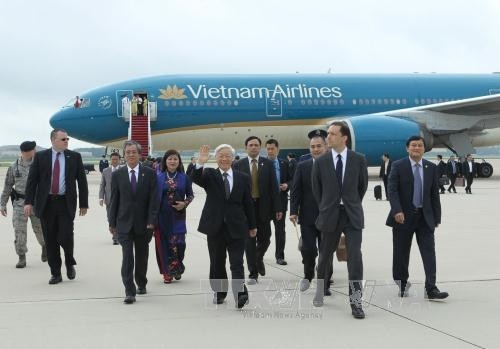 Vietnam dan Amerika Serikat  berbagi visi dan berkibkat ke masa depan - ảnh 1