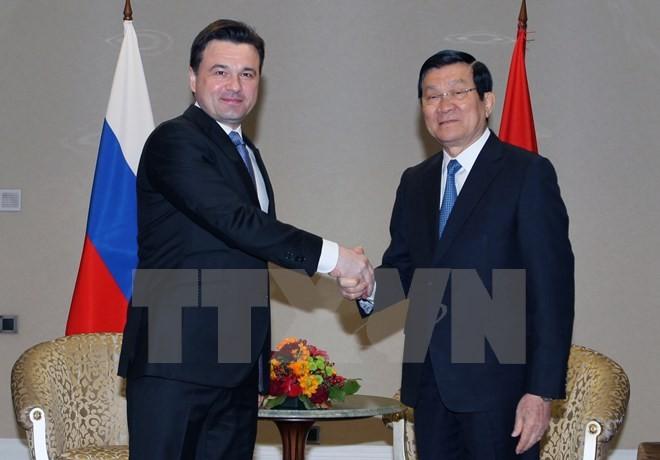 Berbagai daerah di VN dan Federasi Rusia perlu memperluas hubungan kerjasama bidang unggulan - ảnh 1