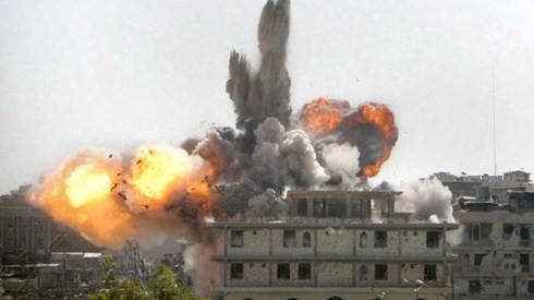 IS secara serempak melakukan serangan, menduduki beberapa kawasan di Irak - ảnh 1