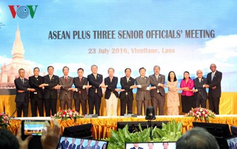 Pembukaan SOM ASEAN +3 dan Asia Timur - ảnh 1