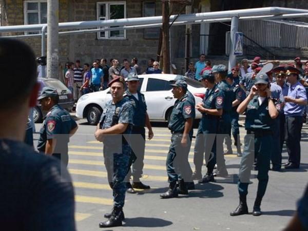 Badan Keamanan Nasional Armenia mengeluarkan ultimatum kepada kelompok bersenjata ekstrim - ảnh 1