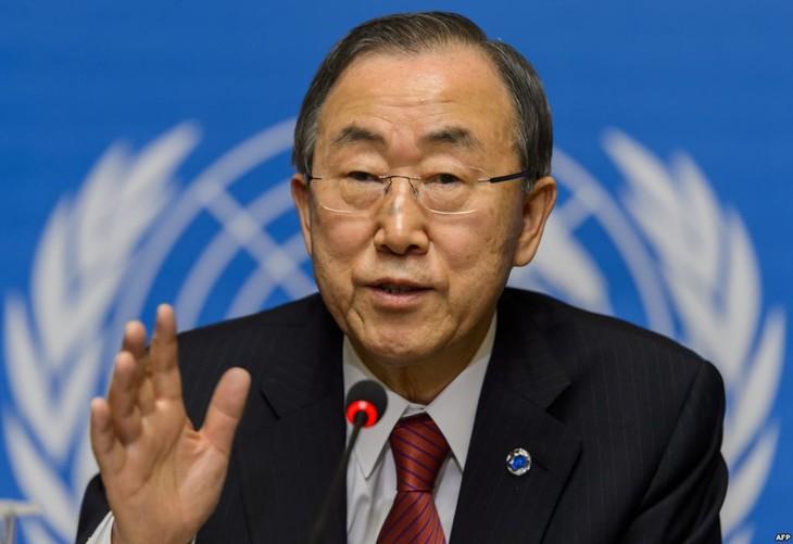 Mantan Sekjen PBB, Ban Ki-moon tidak mengikuti pilpres Republik Korea - ảnh 1