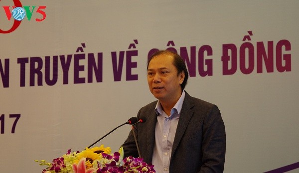 Mendorong peranan media dalam sosialisasi mengenai Komunitas ASEAN - ảnh 1