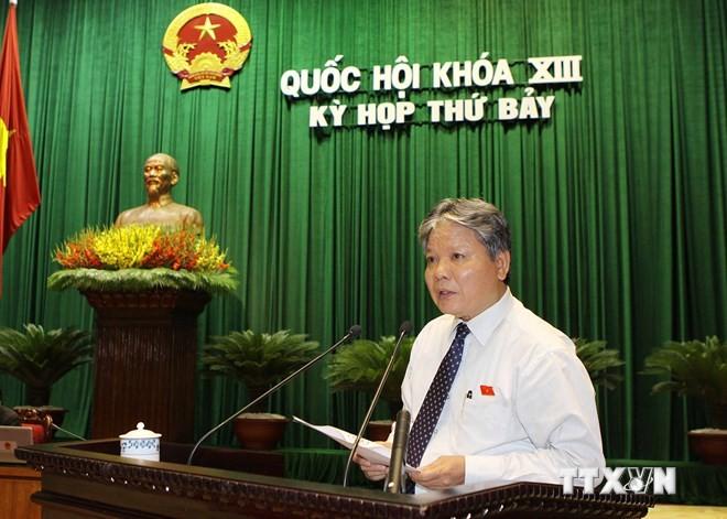 Депутаты вьетнамского парламента обсуждали важные законопроекты - ảnh 1