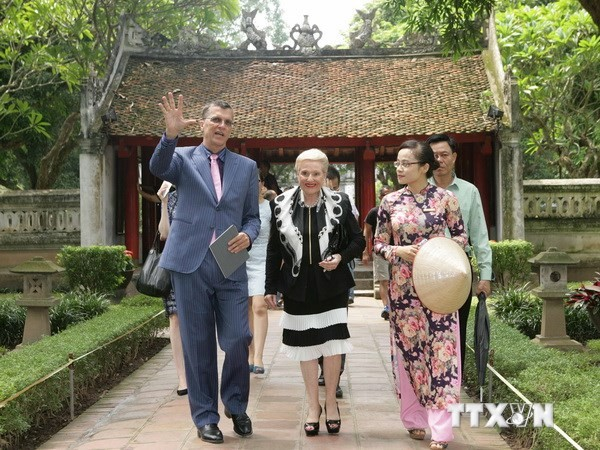 Спикер Палаты представителей Австралии завершила официальный визит во Вьетнам - ảnh 1