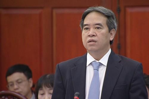 Министр природных ресурсов и экологии ответил на запросы членов ПК НС СРВ - ảnh 2