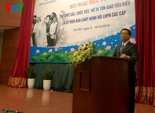 Во Вьетнаме названы лучшие жещины-руководители и монахини - ảnh 1
