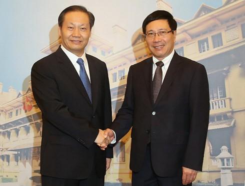 Вице-премьер, глава МИД Вьетнама принял секретаря парткома ГЧАР - ảnh 1