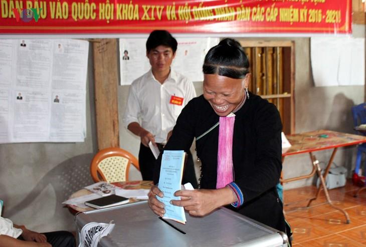 Всеобщие выборы во Вьетнаме - ảnh 17
