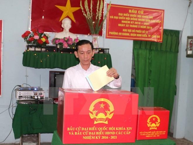 В провинциях и городах Вьетнама прошли дополнительные выборы - ảnh 1
