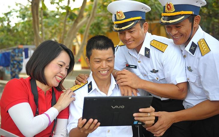 Чыонгша: стремление молодёжи к зелёным островам - ảnh 20