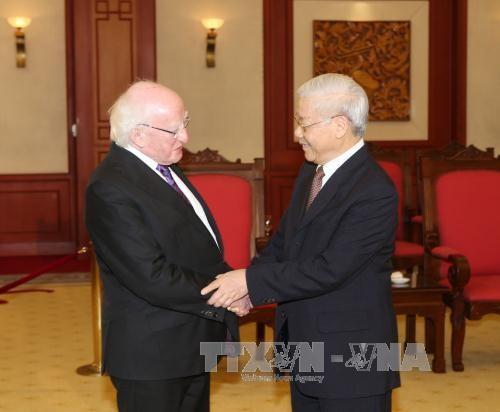 Вьетнам и Ирландия активизирует сотрудничество в разных сферах - ảnh 1