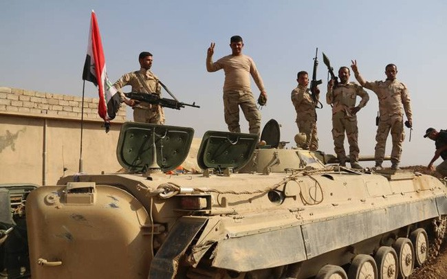 Ирак взял под контроль город Нимруд - ảnh 1