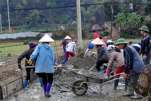 Провинция Баккан концентрируется на строительстве новой деревни - ảnh 1