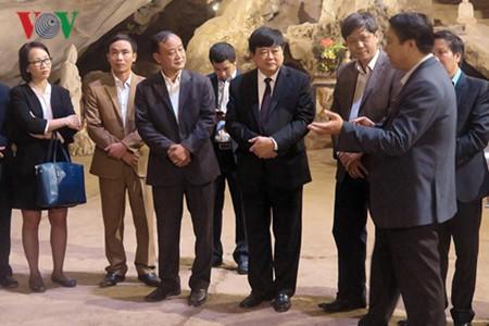 Посещение места, где 70 лет назад Хо Ши Мин прочитал стихи, поздравляющие с Новым годом - ảnh 5