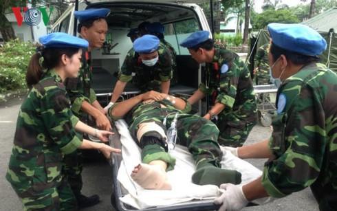Военно-полевой госпиталь 2-й степени Вьетнама готов к выполнению своих задач в Южном Судане - ảnh 1