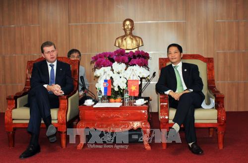Вьетнам и Словакия продолжат активизировать торговое сотрудничество - ảnh 1