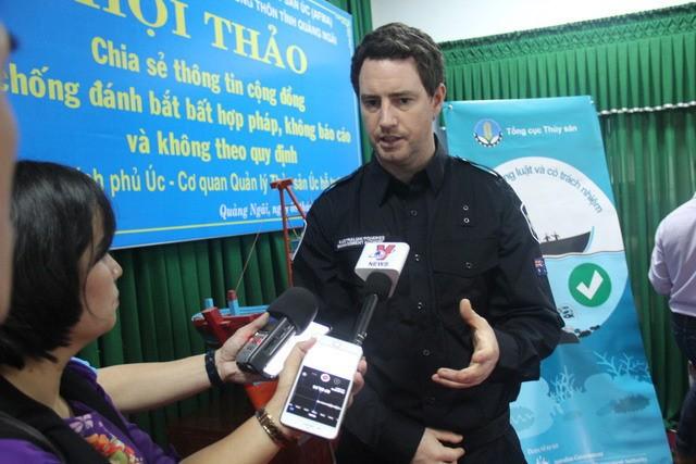 Австралийское правительство высоко оценивает усилия Вьетнама в борьбе с незаконным рыболовством - ảnh 1