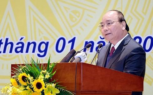 Нгуен Суан Фук принял участие в итоговой конференции Госбанка Вьетнама - ảnh 1