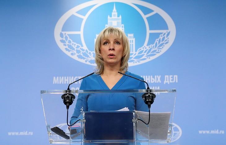 Захарова: «умные ракеты» должны лететь в сторону террористов, а не законного правительства - ảnh 1