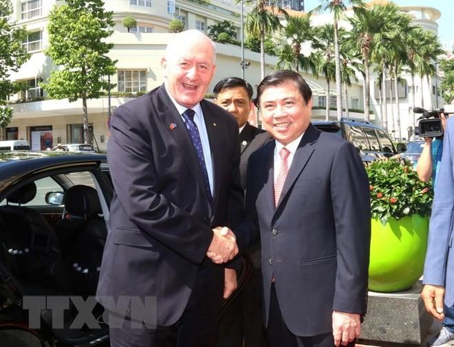 Австралия придаёт важное значение развитию сотрудничества с Хошимином - ảnh 1