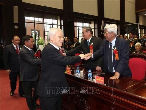 Нгуен Фу Чонг принял участие в праздновании 70-летия дня отрасли партийного контроля - ảnh 1