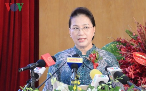 Нгуен Тхи Ким Нган приняла участие в 30-летнем юбилее компании «Новый порт Сайгон» - ảnh 1
