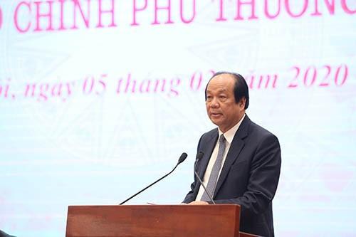 В Ханое прошла очередная пресс-конференция по итогам работы правительства Вьетнама в январе - ảnh 1