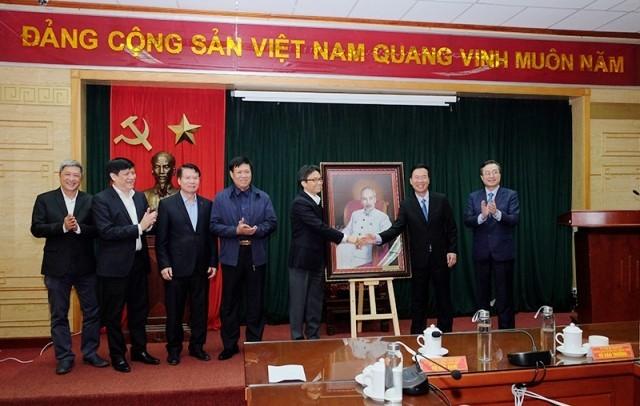 Во Ван Тхыонг поздравил медработников с профессиональным праздником - ảnh 1