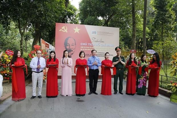 В Ханое открылась выставка, посвященная Президенту Хо Ши Мину - ảnh 1