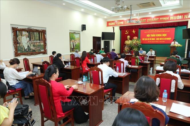 В Ханое прошла конференция «Президент Хо Ши Мин: жизнь и деятельность» - ảnh 1