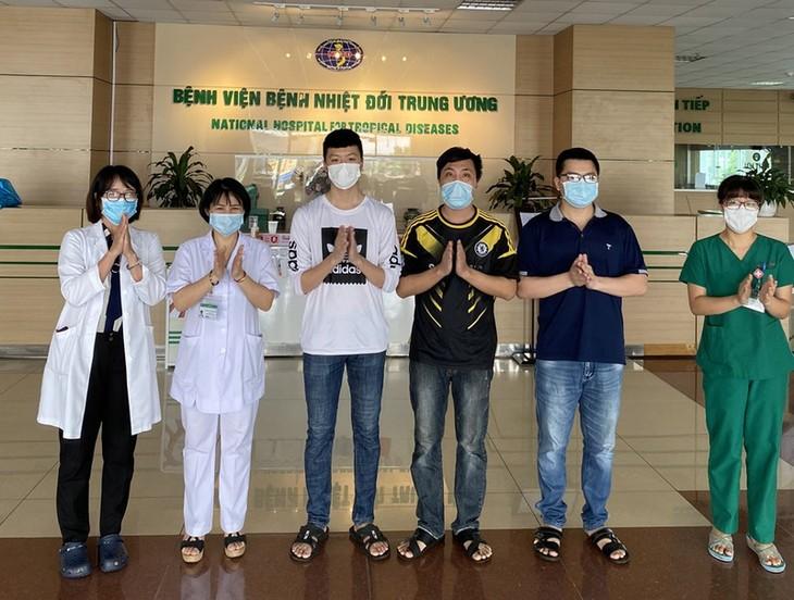 Во Вьетнаме еще 5 пациентов с коронавирусом выдоровели - ảnh 1