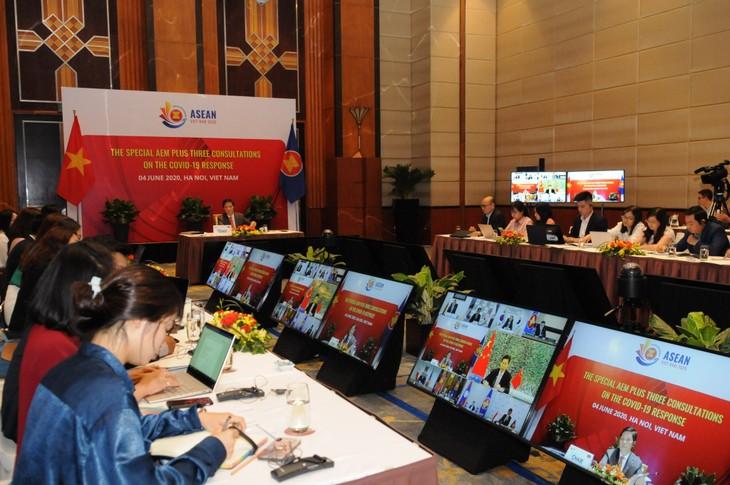АСЕАН приняла Ханойский план действий по содействию интеграции бизнес-процессов в цепочках поставок - ảnh 1
