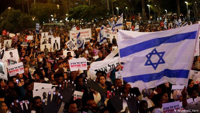 В Израиле прошла акция протеста против аннексии Западного берега Иордана - ảnh 1