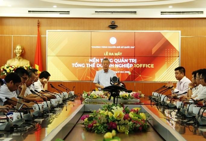 Во Вьетнаме представлена система корпоративного управления 1Office - ảnh 1