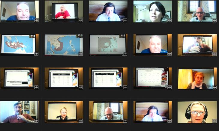 В России прошла видеоконференция по ситуации в Восточном море - ảnh 1