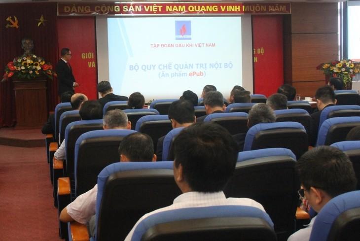 Обнародование правил внутреннего распорядка – это важная веха для «ПетроВьетнама» - ảnh 2