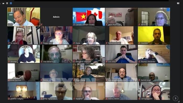 Вьетнам поделился с Канадой опытом в борьбе с COVID-19 - ảnh 1