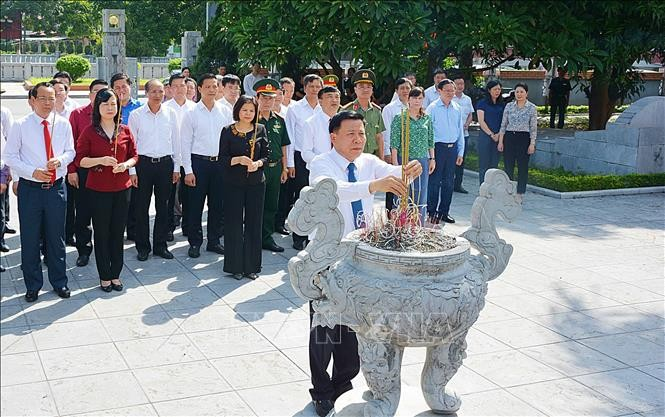 В провинции Бакнинь отметили День рождения генсека ЦК КПВ Нгуен Ван Кы - ảnh 1