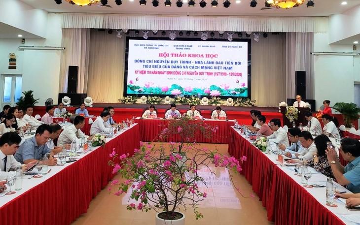 Нгуен Зюй Чинь – выдающийся бывший лидер партии и революции Вьетнама - ảnh 1