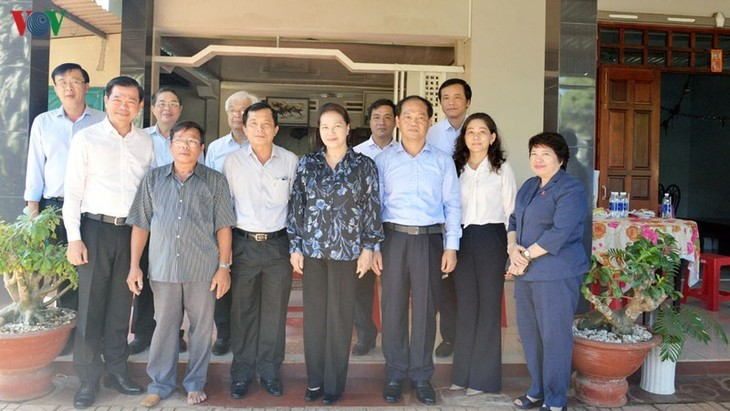 Спикер Нацсобрания СРВ совершила рабочую поездку в провинцию Бариа-Вунгтау - ảnh 2