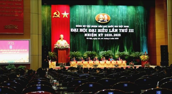 В Ханое открылась III конференция парторганизации «ПетроВьетнама» - ảnh 1